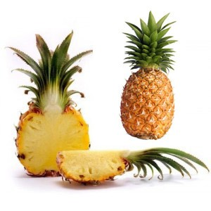 how to cut ananas fruit